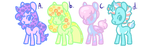 rlly cheap pone adopts (2/4) by adoptacult