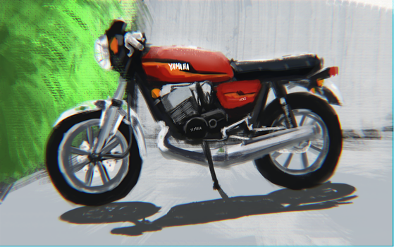 YAMAHA RD400 by Chillpipe