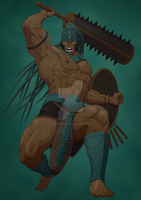 Cabrakan Mayan God of Earthquakes and Mountians by OfficalROTP