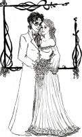 Mr. and Mrs. Harry Potter by Indianadelae