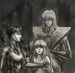 Saint_Seiya_fanfic_illlustration_Virgo Asmita_ by Juliett-art-j