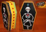 Skeleton Coffin 1 SOLD by angelacapel