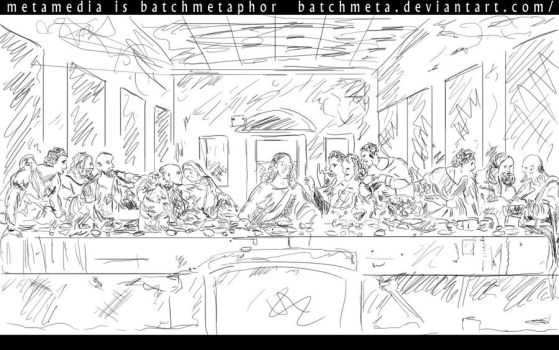The Last Supper by BatchMeta