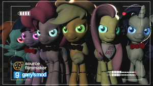 [DL] FNAP Mane Six Enhanced Version by Stefano96