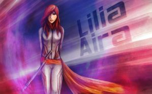 Lilia Aira - The Red Fox by Timothi-Ellim