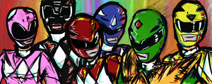 Power Rangers Mighty Morphin by tomturbo17