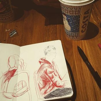 Drawing in Costa by paper-violet