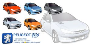 Peugeot 206 Icon Pack by TPDKCasimir