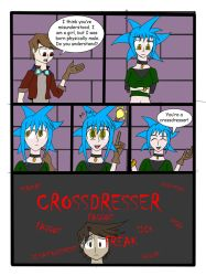 My life as a Blue Haired Sorceress page 43 by epic-agent-63