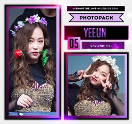 Yeeun #2 (CLC) |PHOTOPACK| by WithoutTheLove-Music