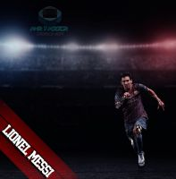 Messi by AmrYasserDesigner