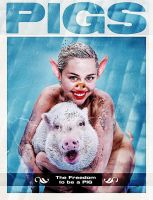 Miley Cirus The Pig by stringchange