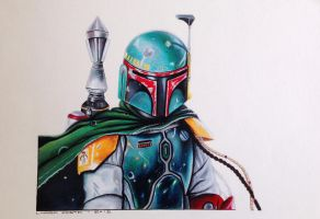 Boba Fett fan art by Deleitesemcor