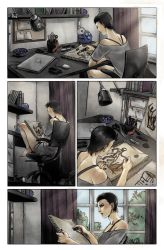 The Deathlings Page01-Color by ManuelaSoriani