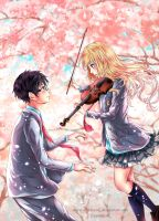 Your lie in April by EvanRank