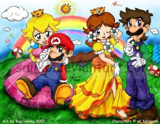 Mario: Couples? -Redone- by saiiko