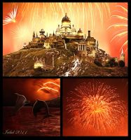 The Fireworks Close-Up by Iribel