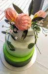 Protea Wedding Cake by cakecrumbs