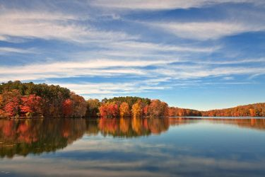 Autumn Liberty Reservoir by somadjinn