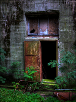 The Rusty Door by wb-skinner