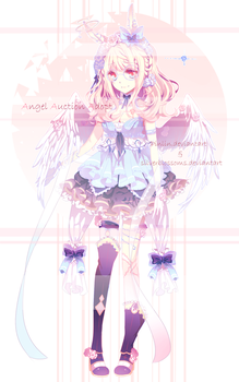 [CLOSED] Angel Auction Collab by silverblossoms