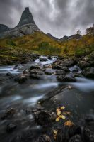 Autumn at Stetind by Trichardsen