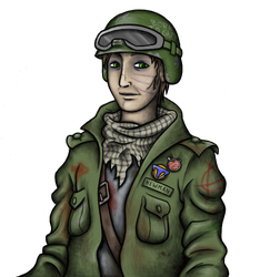 Resistance Guy Character Sketch by Theta-Xi