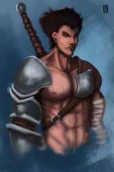Warrior by Meridianos