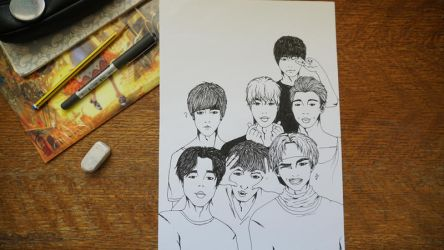 First Draw: BTS Come Out by busilva