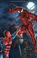SPIDERMAN X CARNAGE by ferryo