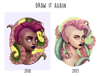 Draw It Again: Tentacle Punk II by joifish