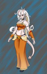 Unnamed Tiefling by Logical-Cogs