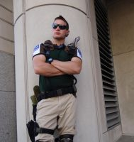 Chris Redfield S*T*A*R Cosplay - Resident Evil by Cosplay4UsAll