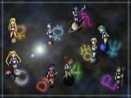 Sailor Chibi System by puppetka