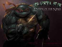 Raphael : Dawn of the Ninja by RayDillon