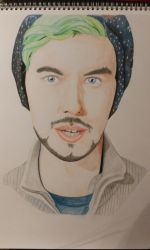 Jacksepticeye 7 Million Subscribers WIP 2 by meerkat--love