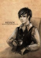 The Guy or the Coffee by Keyade
