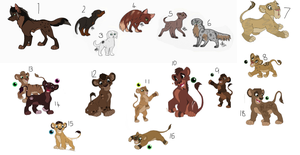 Adopts that didnt sell by BeeStarART