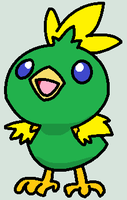 Emerald The Torchic by nerotoxin06