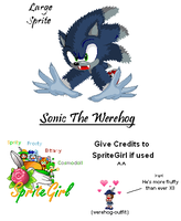 Werehog Large Sprite by SpriteGirl