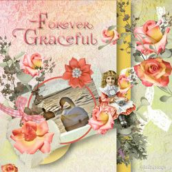 Forever Graceful by AudrajScraps