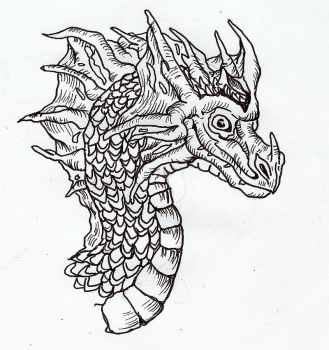 Dragon by wolfworld