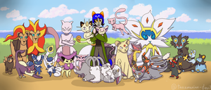 Nepeta And Her Collection by Tazzmanian-Devil