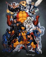 X-Men by drewdown1976