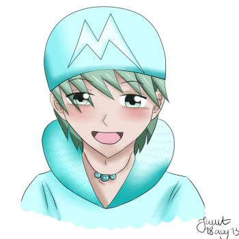 Iceguy! :3 by Jwwt