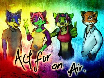 Found this drawing of ActfurOnAir XD by HummingHare