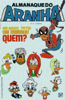 Almanaque do Aranha (Spidey's Almanac) by Tulio-Vilela