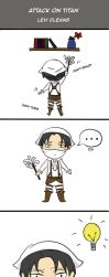Levi Cleans by hichanchan