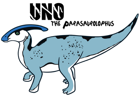 Uno the Parasaur by Xbox-DS-Gameboy
