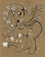 Fluttershy. sketch by Maytee